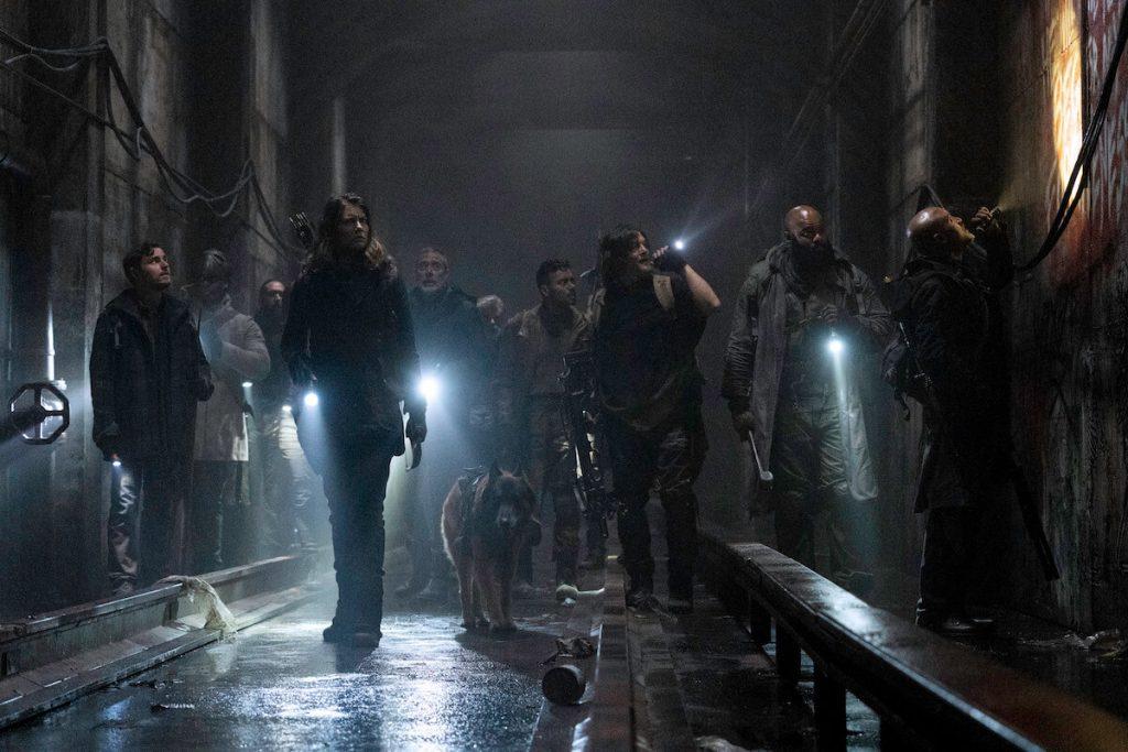 Post apocalyptische thrillerserie zombies